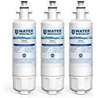 Waterspecialist LT700P Replacement Refrigerator Water Filter, Compatible with LG LT700P, Kenmore 9690, 46-9690, 469690, ADQ36006101, ADQ36006102, LT700PC WSL-3 R-9690 LFXS30766S LFXC24726D (Pack of 3)