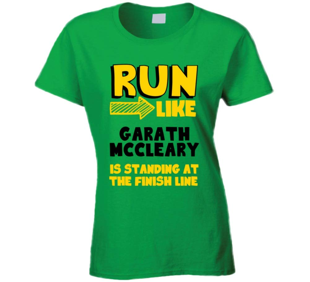 Run Like Garath Mccleary Is Standing At The Finish Line Football Player Fan Shirts