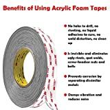 3M Double Sided Tape Heavy Duty, VHB Outdoor Indoor