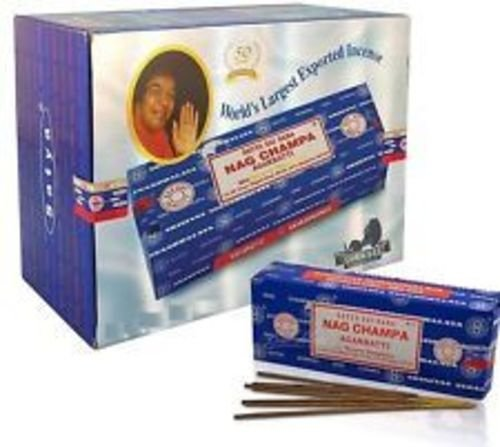 Incenso Nag Champa Satya Sai Baba Cx.12 un.15 g