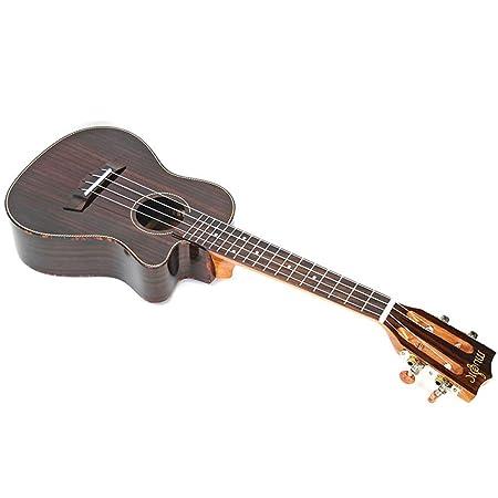 Sanqing Ukelele, Guitarra pequeña, Ukelele de Palisandro,23inch ...