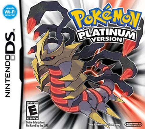 Factory New Pokemon:Platinum Version Game Card For 3DS Lite NDSI NDSXL Quality Assured ()