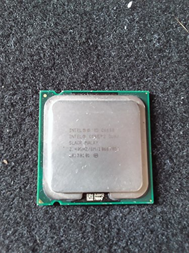 Intel Core 2 Quad Q6600 2.4GHz 2.40GHz 8M/1066 SLACR Socket 775 CPU Processor + (Best Motherboard For Core 2 Quad)