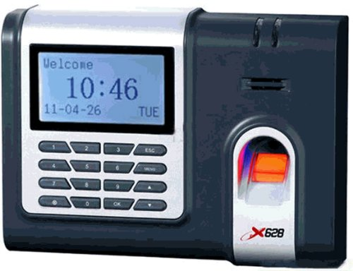 CreativeTime Express Software for 25 Employees with Biometric Fingerprint Time Clock (Time Clock Software Quickbooks)