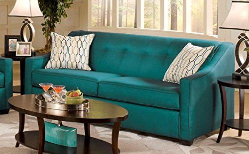 Chelsea Home Furniture Brittany Sofa Stoked Peacock