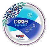 #8: Dixie Everyday Dinner Plates, Mega Pack, 10 1/16 Inch, 86 Count