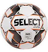 SELECT Futsal Master Futsal Ball, White/Black/Orange, Senior