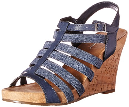 A2 By Aerosoles Womens Magic Plush Wedge Sandal