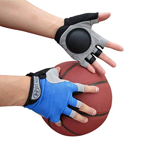 Basketball Dribble Gloves Finger Training Anti Grip Basketball Gloves for Youth Adults, Enhanced Finger Control Ball Ability, Basketball Training Aids, Finger Strengthener