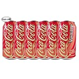 Coca Cola Vanilla Cans- 355ml (Pack of 6)