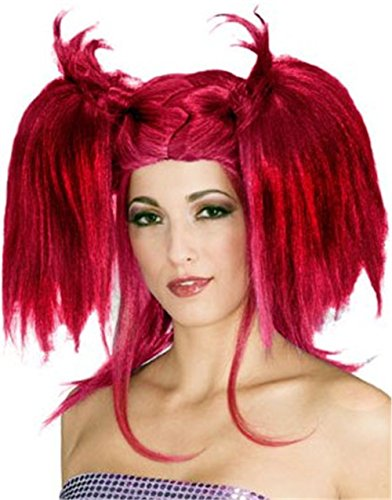 Rubie's Costume Lipstick Diva Wig, Deep Red, One Size - Street Diva Costumes