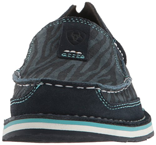 Navy Dark Sneaker Suede Cruiser Earth Fashion Eclipse Ariat Regular Cheetah Women's wqIgn8