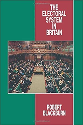 Book The Electoral System in Britain by R. M. Blackburn (1995-07-17)
