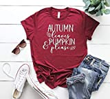 cute women's t-shirt women's fall t-shirt cute women's shirt thanksgiving t-shirt hello fall tee cute fall outfit