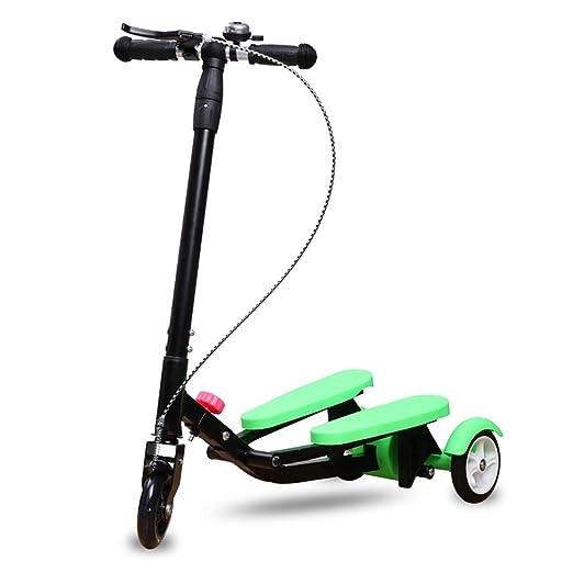 Scooter Patinete no eléctrico para niños, Mango de Barra en ...