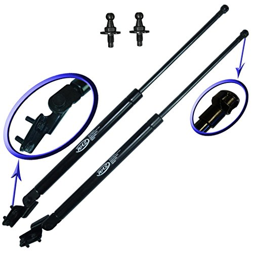 (Two Rear Hatch Gas Charged Lift Supports for 2009-2013 Subaru Forester Wagon. Left and Right Side. WGS-624-625)