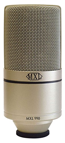 - MXL 990 Condenser Microphone with Shockmount