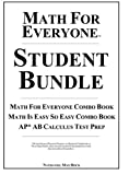 Math for Everyone Student Bundle Hardcover, Nathaniel Max Rock, 1599800705