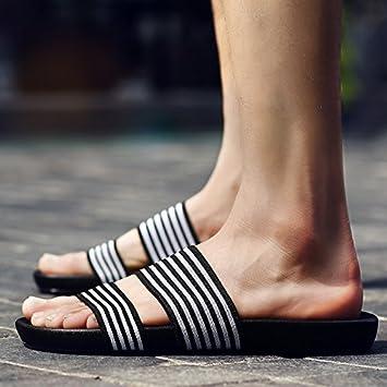 fankou Zapatillas Personalizadas de Verano Sandalias de Verano Masculino la Pareja Playa Marea Cool Ocio Drag-and-Drop: Amazon.es: Deportes y aire libre