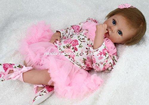 nicola リボーンドール reborn baby doll  抱き人形 ドールセラピー   B01E123H70