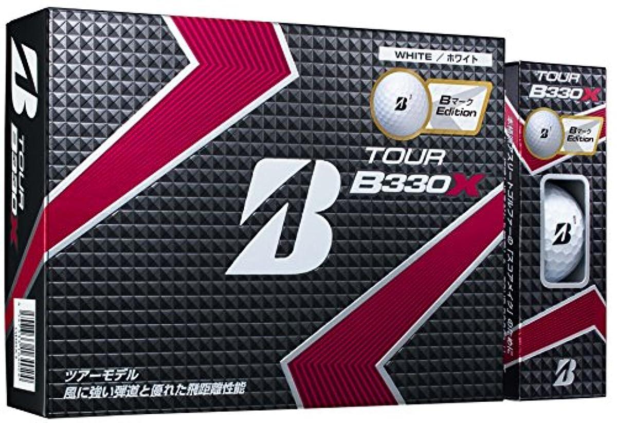 [해외] BRIDGESTONE(브리지스톤) 골프 볼 TOUR B TOUR B330X B마크EDITION 화이트 1다스 유니 GBBXT 화이트