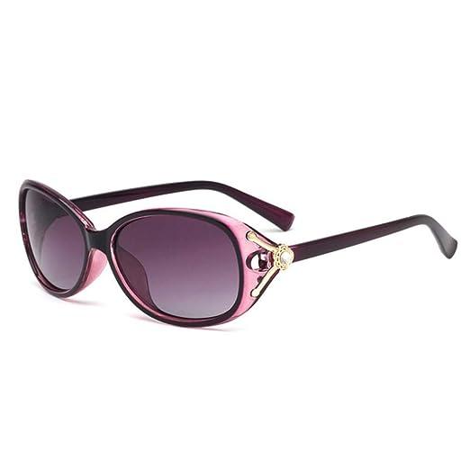 Yangjing-hl Gafas de Sol de Perlas polarizadas Elegantes er ...