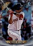 #3: 2018 Bowman Chrome Refractor ROY Favorites #ROYF-RD Rafael Devers Boston Red Sox Rookie of Year RC Baseball Card