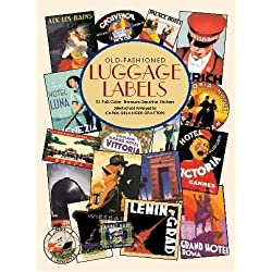 Old-Fashioned Luggage Labels (Dover Stickers)