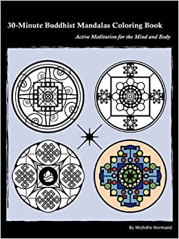 Book 30-Minute Buddhist Mandalas Coloring Book by Michelle Normand (2010-02-03)
