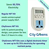 City Greens NFT Hydroponics System 5 Channels