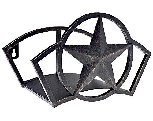 Liberty Garden 234 Liberty Star Mount Hose Butler, Holds 125-Feet of, 5/8-Inch, Black