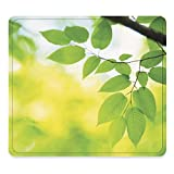 Fellowes Recycled Optical Mouse Pad, Leaves