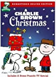 A Charlie Brown Christmas Remastered Deluxe Edition DVD With Bonus Peanuts TV Special and BONUS 40th Anniversary CD Giftset