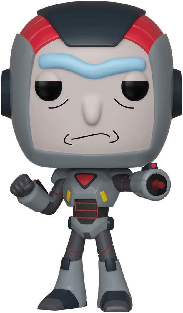 Pop! Figura de Vinilo: Animación: Rick & Morty S6 - Rick in Mech Suit