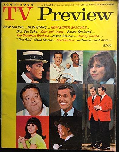 1967-1968 TV Preview (Dick Van Dyke, Bill Cosby, Barbra Streisand, Smothers Brothers, Jackie Gleason, Johnny Carson, Marlo Thomas, Red Skelton, Carol Burnett, Ed Sullivan, et al.)