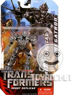 Transformers: The Movie Robot Replicas > Megatron vs. Optimus Prime Action Figure 2-Pack