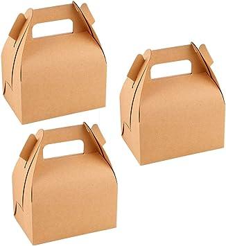 Amazon.es: Toyvian Cajas de Papel de Regalo - Caja de Regalo de Dulces para Fiestas de cumpleaños de la Fiesta de Bienvenida al bebé de la Boda, Paquete de 12: Juguetes y