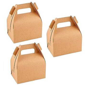 Toyvian Cajas de Papel de Regalo - Caja de Regalo de Dulces para Fiestas de cumpleaños de la Fiesta de Bienvenida al bebé de la Boda, Paquete de 12