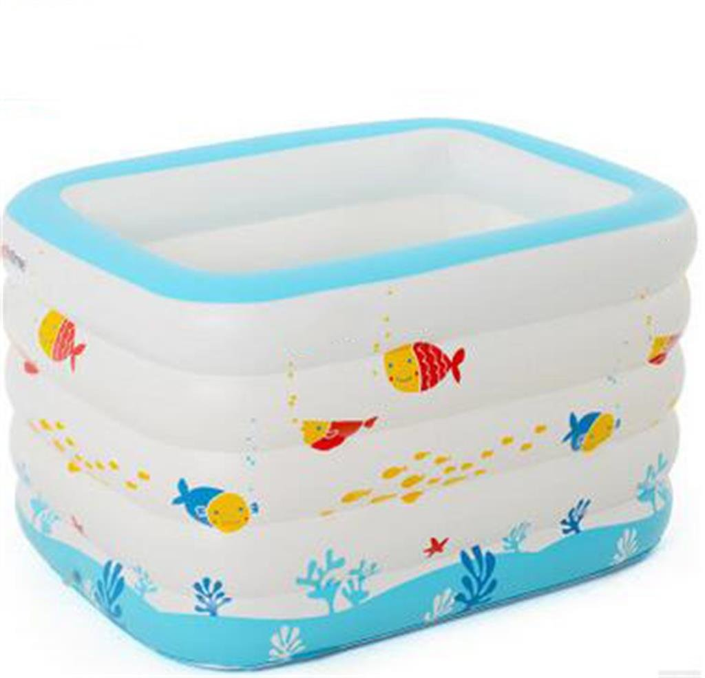 LQQGXL,Bath Child Inflatable Bathtub Inflatable Inflatable Pool Larger Pool Collapsible Ocean Pool Pool Swimming Pool Water Playground Inflatable bathtub