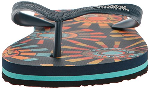 Billabong Mens Tidvatten Sandal Flip-flop Marin / Orange