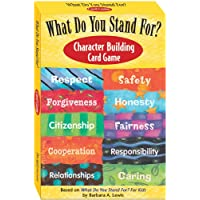 What Do You Stand For?: Character Building Card Game