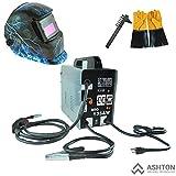 MIG Welder - Commercial 115v Mig 130 135 Amp Automatic Feed Flux Core Gasless Welder Mig-135aw Helmet AWT-FR1 Kit
