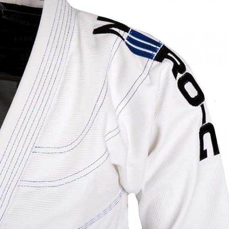Tatami BJJ Gi White Zero G V4 Advanced Lightweight Uniform Gi Kimono Jiu Jitsu