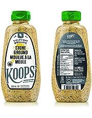 Koops' Organic Stone Ground Mustard, 325 ml