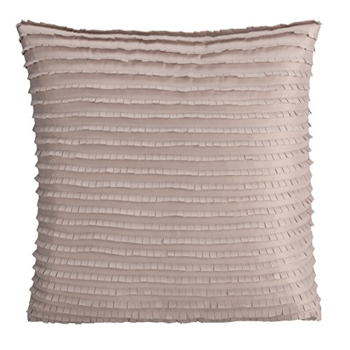 Brielle Montauk Decorative Pillow 16 x 16 , Taupe