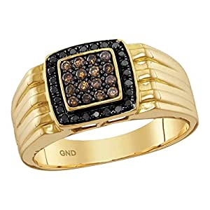 brown ring fancy once gold a products engagement halo in tri upon diamond color