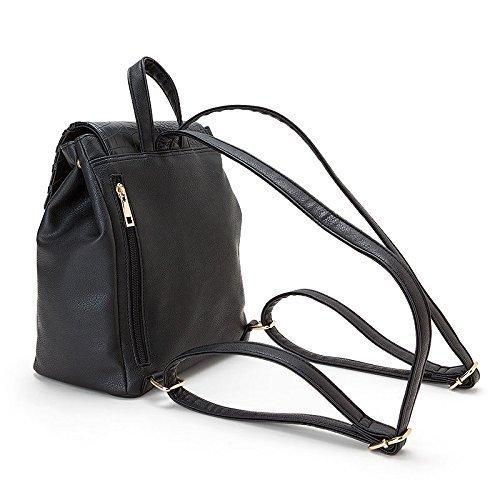 【Hello Kitty】 Zaino in metallo per borse (per donne adulte) zaino colore nero 253740