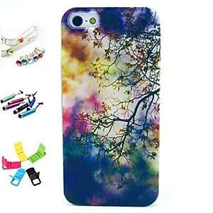 GDW Funda Trasera - Dibujos/Diseño Especial/Innovador/Anime - para iPhone 5/iPhone 5S ( Multicolor , TPU )