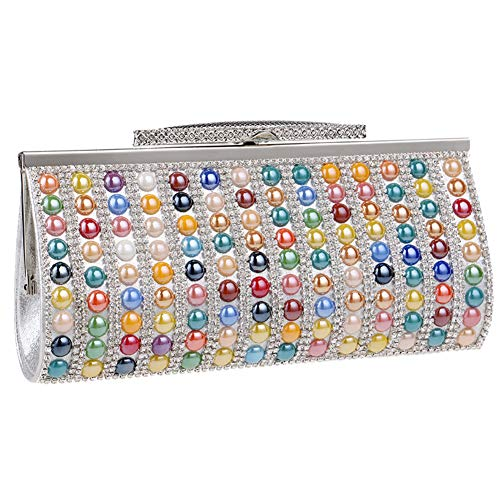 Clutches Party Bags Chain Womens Multi Dress Handbags Color Purse Wedding For Evening cnxWrfTnC