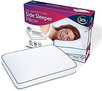 Serta Gel Memory Foam Side Sleeper Pillow
